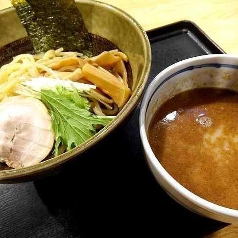 「魚ダシ豚骨つけ麺 ¥650」@やすらぎ処 湯けむり食堂の写真