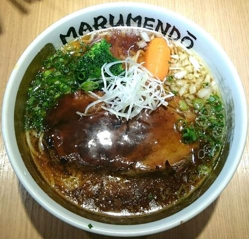 「THE イベリコ【限定麺】」@○麺堂の写真