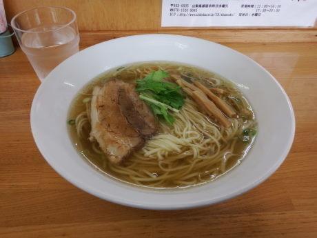 「塩ラーメン」@自家製麺 しゅん作の写真