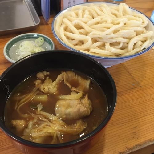 「肉汁うどん(大盛)(¥780)」@武蔵野うどん めんこやの写真