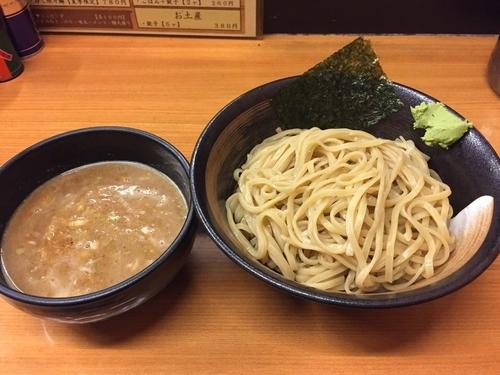 「濃厚つけ麺+大盛」@すーぷ道 連の写真