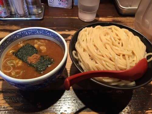「つけ麺 大盛」@つけ麺専門店 三田製麺所 恵比寿南店の写真
