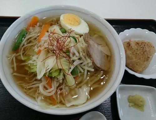「タンメン(650円)」@道の駅 さかいの写真