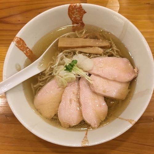 「煮干し肉鶏そば (900円)」@中華そば 芯せかいの写真
