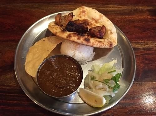 「タンドーリランチ マトン」@インド料理 シタールの写真