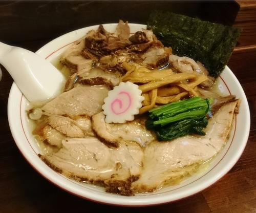 「しおチャーシュー麺 900円」@オランダ亭の写真