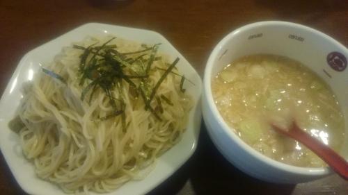 「つけ麺(大盛)」@ラーメン 唐そば 渋谷2丁目店の写真