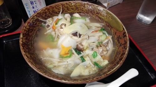 「塩野菜タンメン」@香蘭の写真