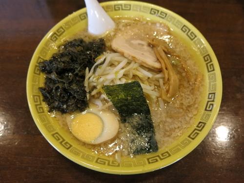 「高菜麺:850円」@江川亭 調布店の写真