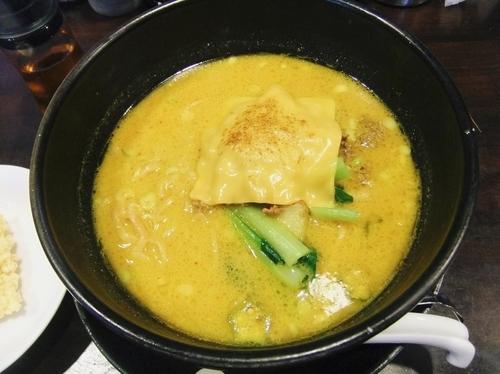 「焼きチーズカレー担々麺(880円)」@ユタの店の写真