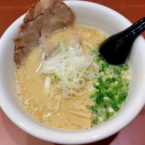 「鶏白湯らーめん 醤油」@らーめん 麺のひな詩の写真