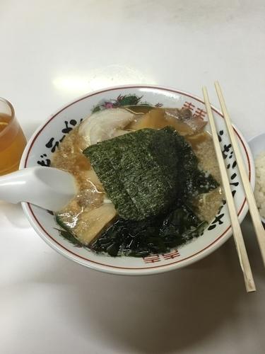 「醤油ラーメンセット(餃子、ライス、850¥)」@ラーメンショップ 三本木店の写真