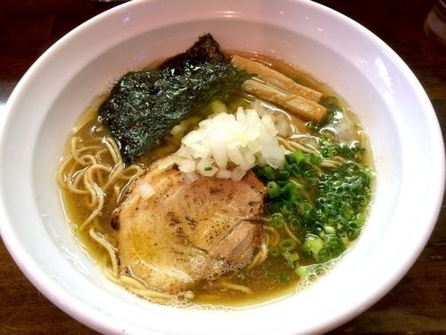 「【木曜限定】淡麗上煮干そば醤油(780円)」@麺や 飛来の写真