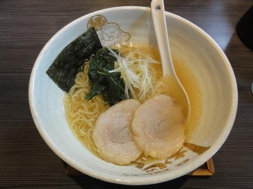 「しおらーめん」@麺匠 大阪ラーメン しおじん 鳳店の写真