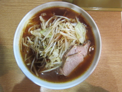 「あつあつ野菜らー麺 840円」@つけ麺 わいちの写真