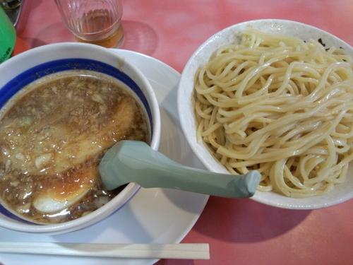 「づけ麺750円」@明神角ふじの写真