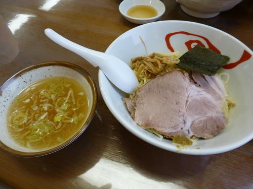 「つけめん並(塩)770円」@天日地鶏の写真