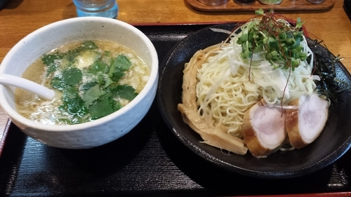 「つけ麺(鶏そばver)750円」@麺屋 鶏口の写真
