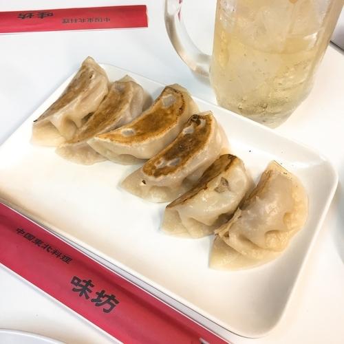 「ラム入り焼き餃子」@味坊の写真