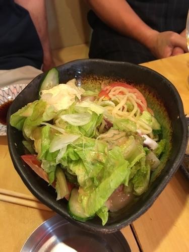 「ラーメンサラダ」@根室食堂 八重洲店の写真