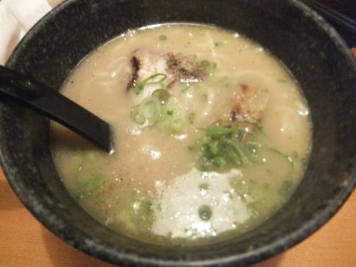 「濃厚魚介豚骨ラーメン302円」@鳥貴族 柏あさひ通り店の写真