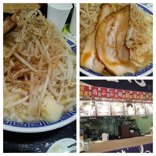 「角ふじ麺(麺、野菜増)」@麺屋 心の写真