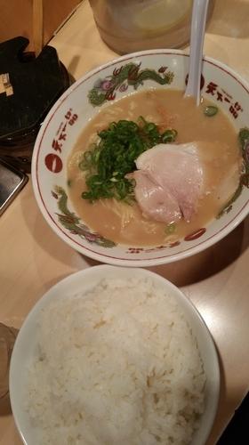「白飯定食(こってり)」@天下一品 六本木店の写真