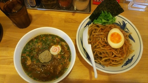 「マサラ(中)あつもり」@らー麺Chopの写真