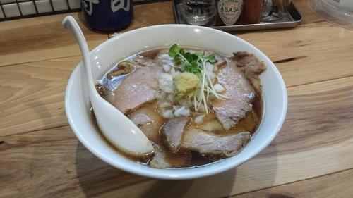「【限定】カッパの肉そば800円」@らーめん カッパハウスの写真