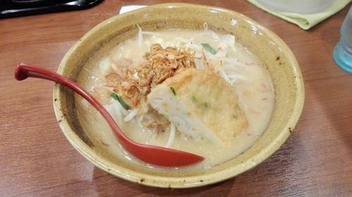 「野菜らーめん(九州麦味噌)」@蔵出し味噌 麺場壱歩 入間店の写真
