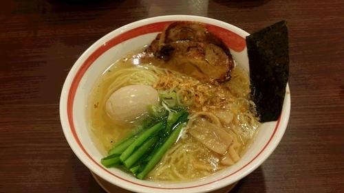 「味玉そば(塩)」@麺屋 空海 KOOKAI 品川店の写真
