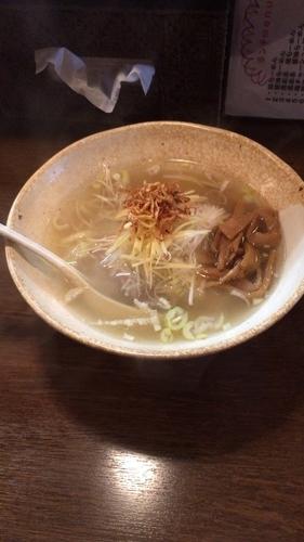 「生姜塩ラーメン」@麺 中中の写真