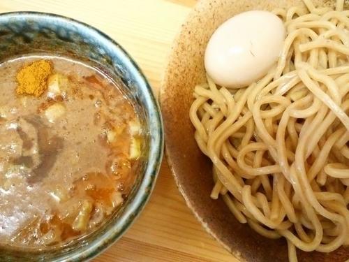 「カレーつけ麺(大)+味玉」@徳川膳武の写真