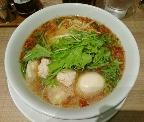「海老マリン麺 850円」@小星星麺の写真