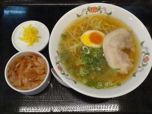 「日本ラーメン」@餃子の王将 国道大久保店の写真