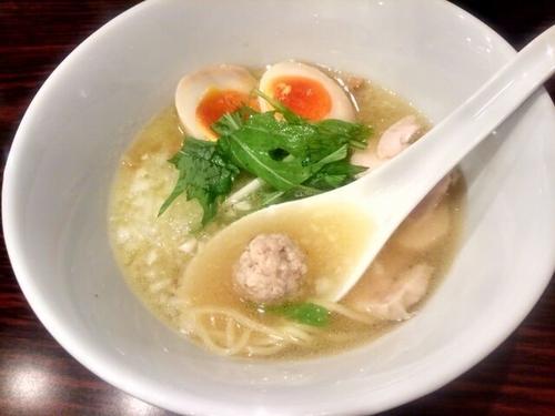 「鶏白湯ラーメン あっさり700円ほか」@麺屋 わかの写真