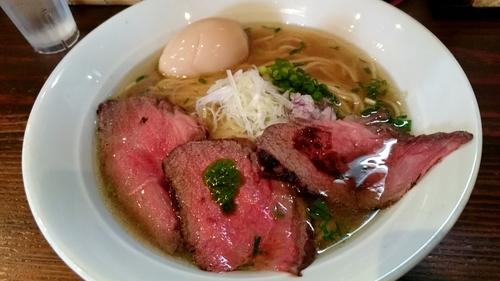 「牛そば【限定】大盛」@麺屋たつみ 喜心 秩父店の写真