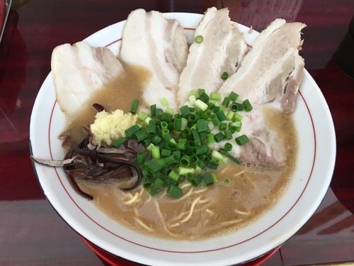 「チャーシュー麺ニンニク入り920」@本場博多とんこつらーめん いっぽしの写真
