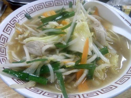 「日替わり麺:タンメン420円」@サラリーマンの写真