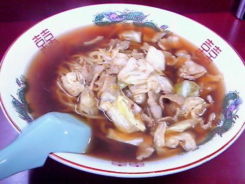 「スープ入り焼きそば¥600」@こばや食堂の写真
