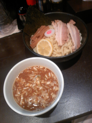 「つけ麺(大盛)780円」@ガンプの写真