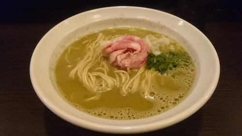 「三陸産秋の牡蠣そば」@灰汁中華 丿貫 福富町本店の写真