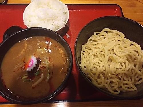 「濃厚辛つけ麺」@中華そばつけ麺 魚介の達人 久兵衛 取手店の写真