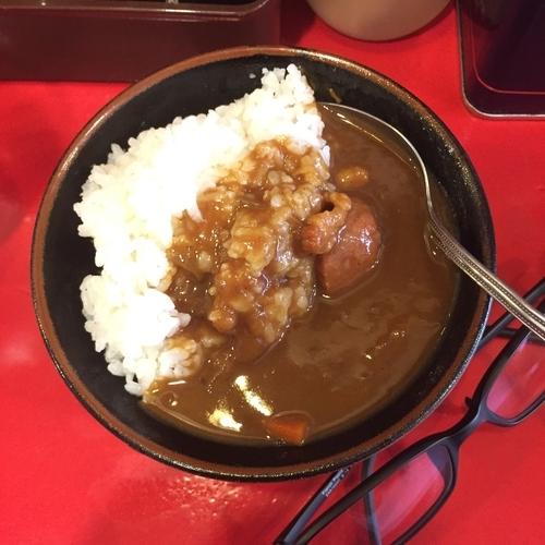 「茶碗カレー」@おーくら家 本店の写真