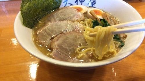 「特製らーめん 中盛 850円」@天神屋 秋葉原本店の写真