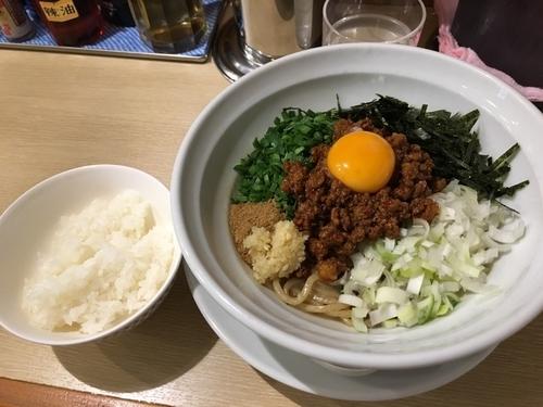 「限定B 台湾まぜそば 追い飯付」@麺屋壱心の写真