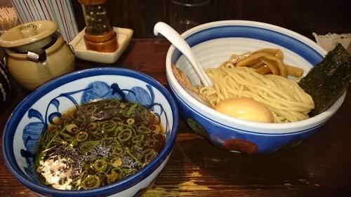 「味玉つけ麺 ¥ 850」@とうかんやの写真