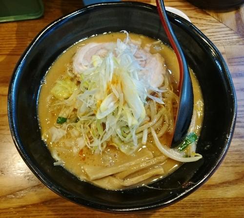 「味噌ラーメン 830円」@麺処 花田 上野店の写真