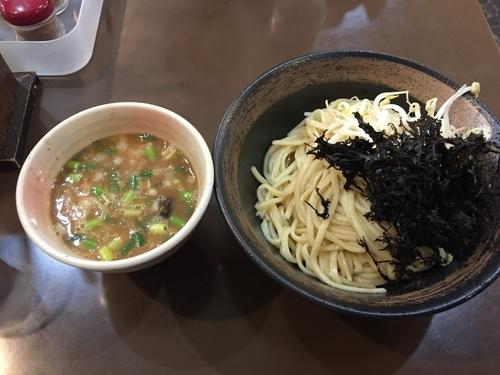 「磯のりつけ麺」@麺藤田の写真