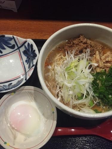 「広島流汁なし担々麺、4辛」@広島流つけ麺 からまるの写真